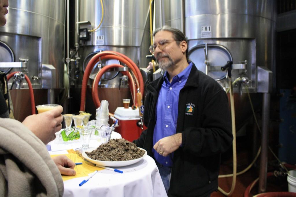 Full Sail brewer Phil Roche at Zwickelmania '09