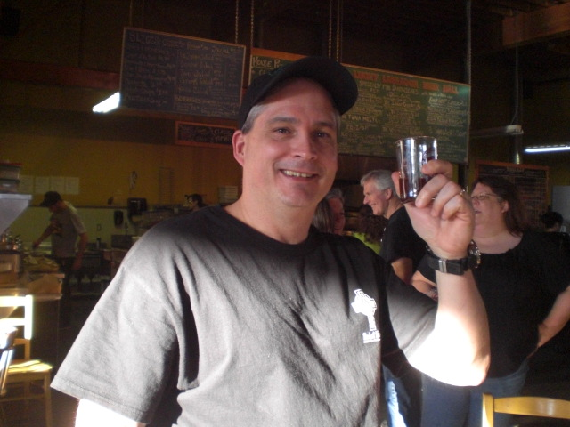 Dogfish Head hat + Lost Abbey t-shirt = Chuck = beer geek
