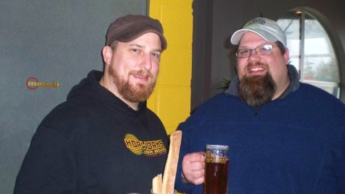 Hopworks' Ben Love (left) and Barley Browns' Shawn Kelso will appear with special beer at BrewPubliCrawl on March 20, 2010