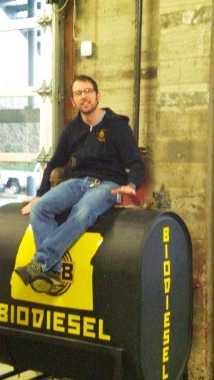 Hopworks' founder/brewmaster Christian Ettinger