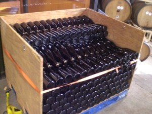 bottles of Kriek