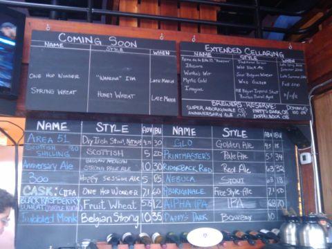 Block 15 beer list