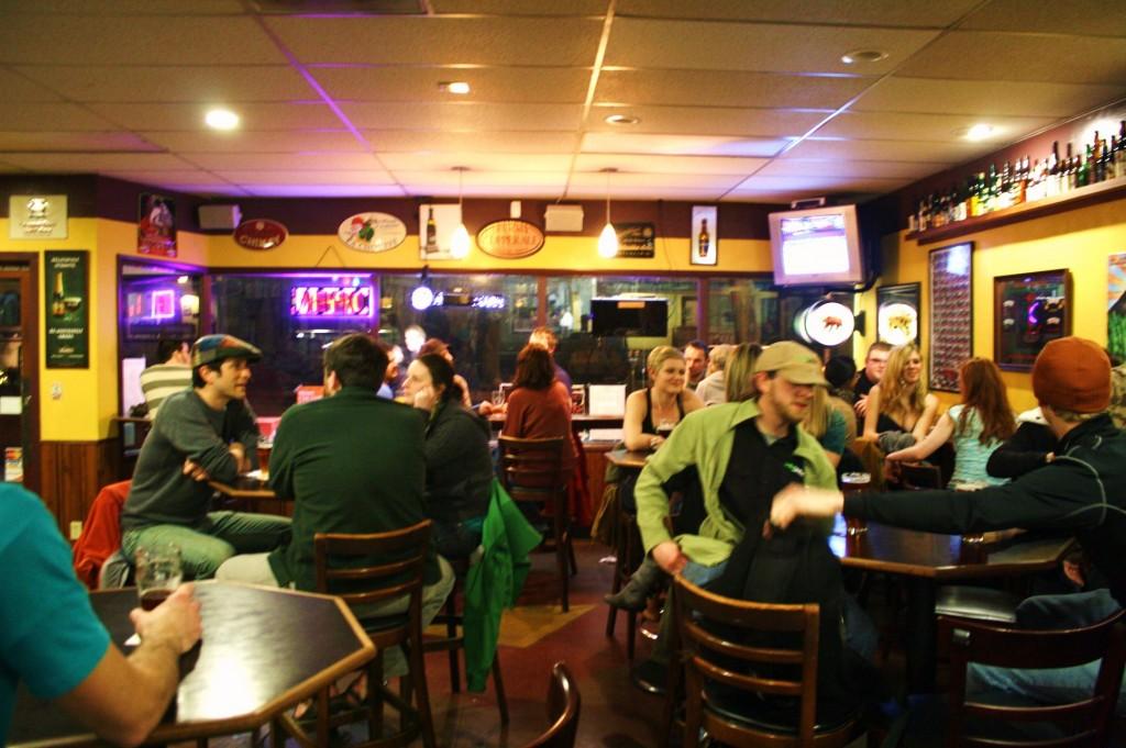 The Bier Stein, Eugene, Oregon, Friday night