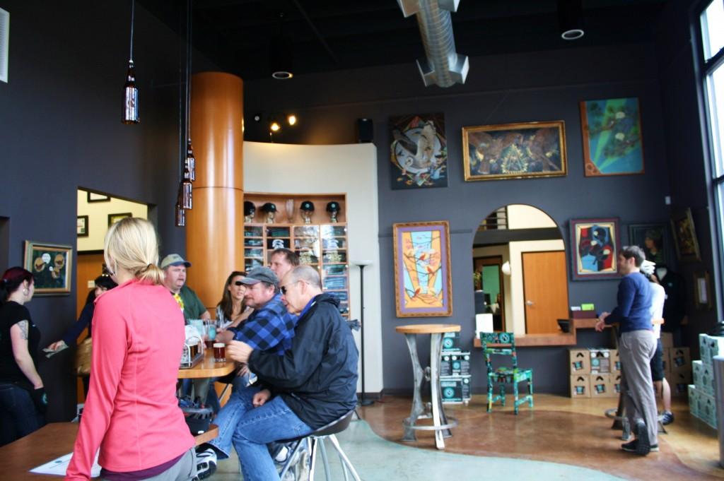 Ninkasi Tasting Room, Eugene, Oregon