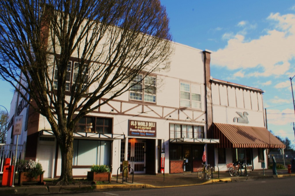 Oregon Trail Brewery and Old World Deli in Corvallis, Oregon