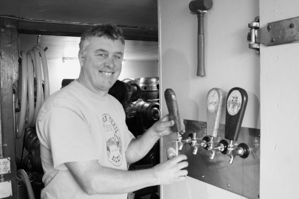 Dave Wills of Oregon Trail Brewery