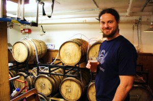 Block 15's Nick Arzner at home in the cellar