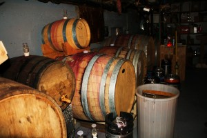 The cellar of Corvallis Home Brew Supply