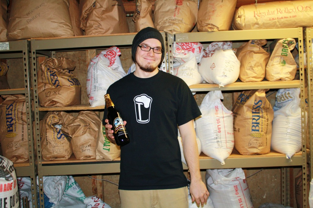Drew Salmi of Corvallis Home Brew Supply