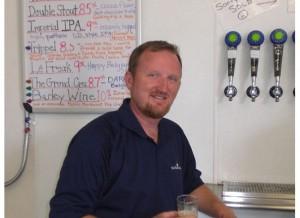 Green Flash brewmaster Chuck Silva