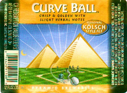 Older Curve Ball label