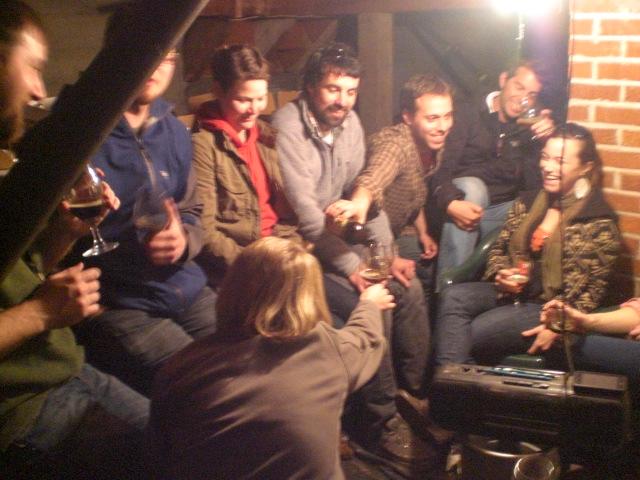Cellar party!