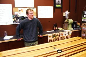 Oakshire head brewer Joe Jasper