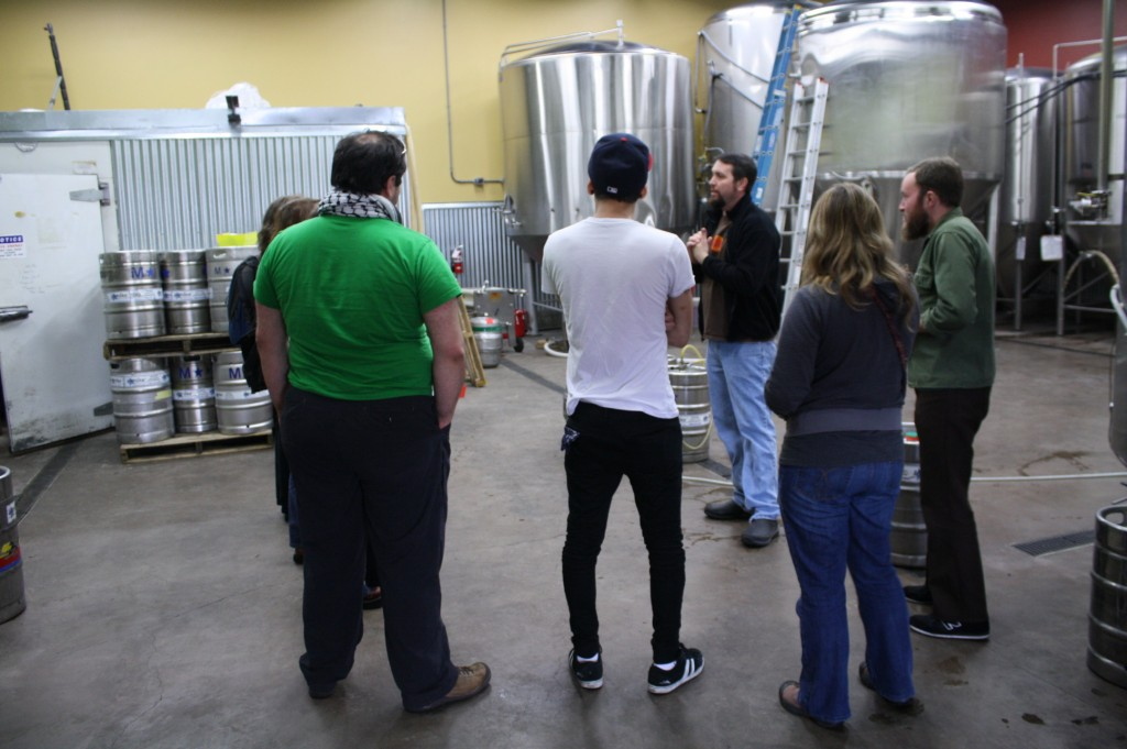 Oakshire Brewery tour with brewmaster Matt Van Wyk