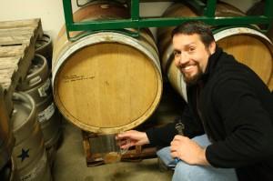 Oakshire Brewmaster Matt Van Wyk