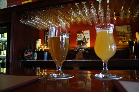 Brooklyn Sarachi Ace (left) and 1809 Berliner Style Weisse