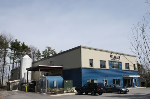 Allagash Brewing facility in Portland, Maine
