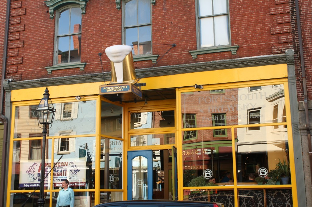 Portsmouth Brewpub in downtown Portsmouth, New Hampshire