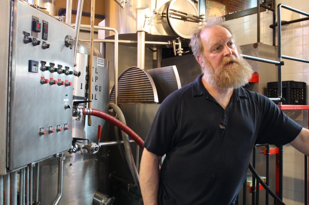 Portsmouth brewmaster Tod Mott