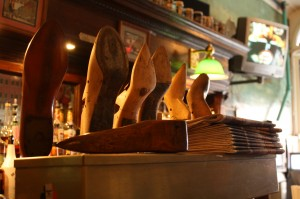 Tap handles at the Tap in Haverhill, MA