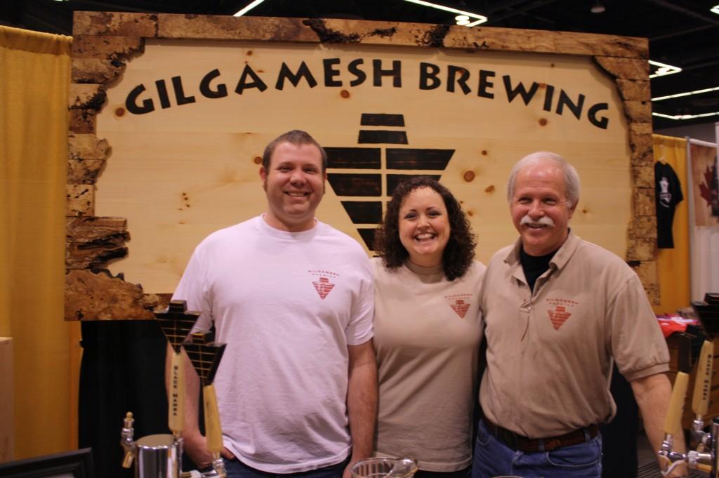Gilgamesh family team Radtke (l to r): Nick, Lani, and Lee