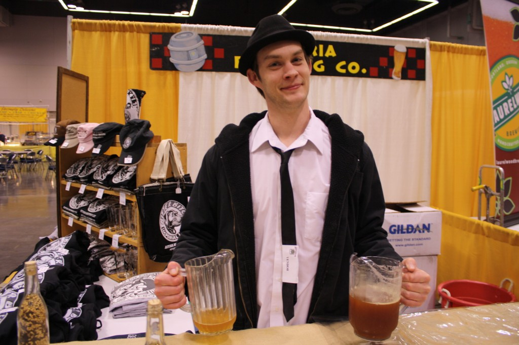 Astoria Brewer John Dalgren at Spring Beer & Wine Fest 2010