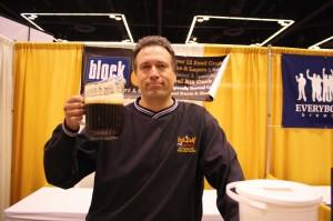 We were surprised to see Preston Weesner working a beer fest (not!)