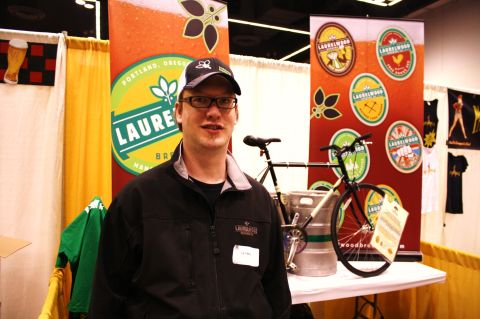 Laurelwood Brewmaster Chad Kennedy