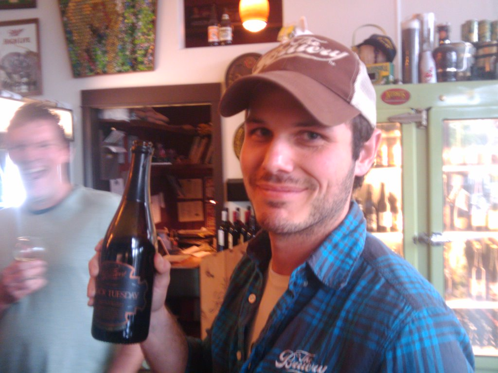 The Bruery's Ben Weiss (photo by Angelo)
