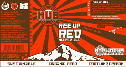 HUB Rise Up Red Ale
