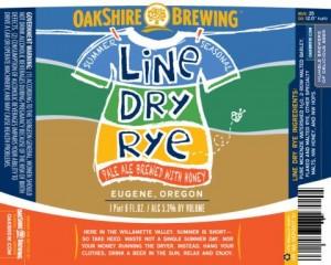 Oakshire Line Dry Rye