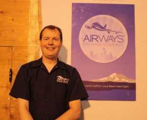 Airways Brewing's Alex Dittmar