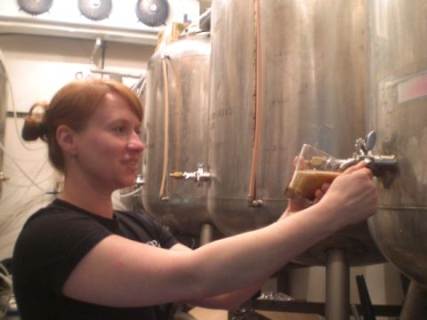 Bend brewmaster Tonya Cornett
