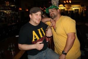 Ben Love and Jaime Rodrigues of HUB