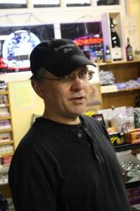 Belmont Station owner Carl Singmaster
