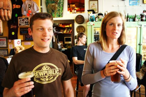 Kerry (left) and Josie Finsand of Taplister