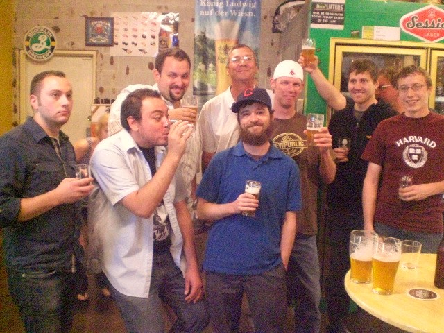 Portland area Beer Advocates celebrate great beer