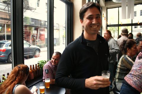 The Commons Brewery's Mike Wright