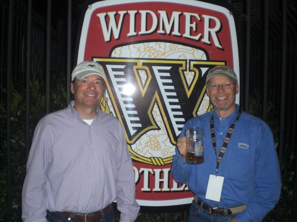 The Widmer Bros: Kurt (left) and Rob