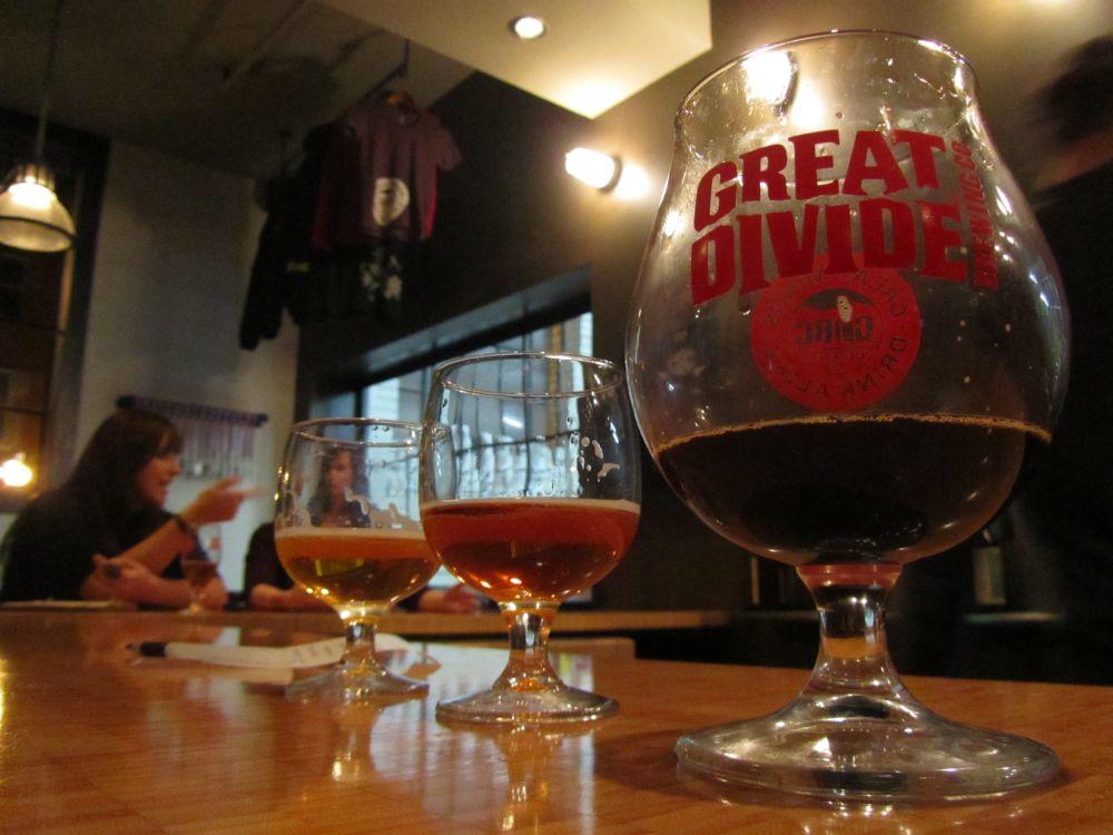 Great Divide = Great Minds Drink Alike