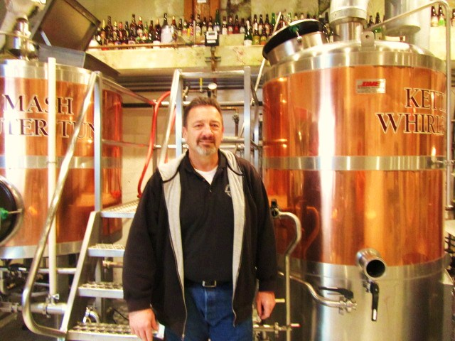 Columbia River Brewing's Rick Burkhardt