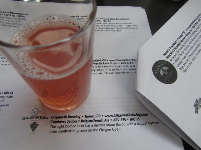 Gilgamesh Cranberry Saison