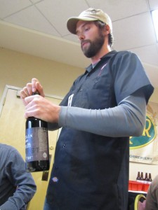 Premier tasting of Odell's Double Black IPA