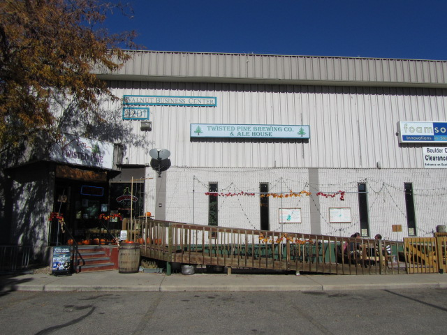 Twisted Pine Brewing Company in Boulder, Colorado