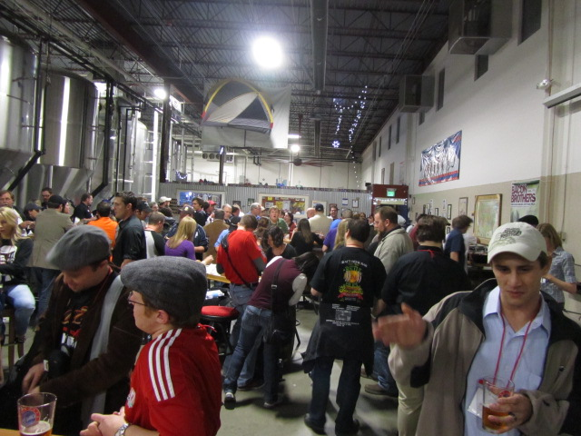 Beer Bloggers dinner at Oskar Blues Brewery in Longmont, CO