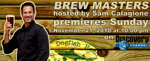 Brew Masters with Sam Calagione