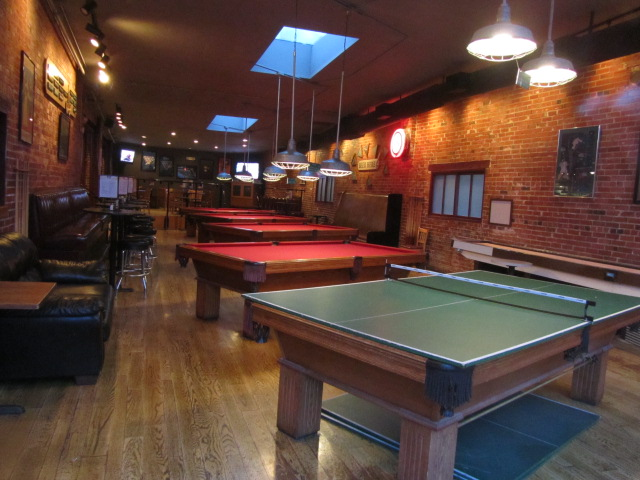 Coopersmith's Pub and Brewing pool hall