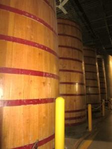New Belgium barrels