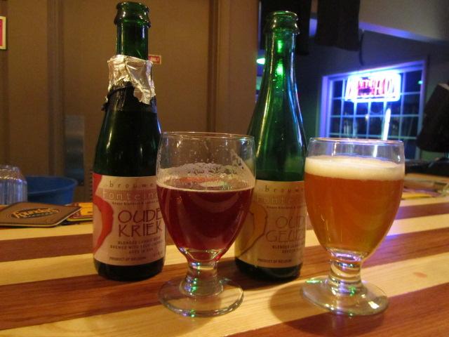 3 Fonteinen bottle pours at Bottles