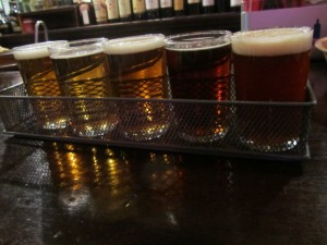 Haverhill Brewery sampler at The Tap